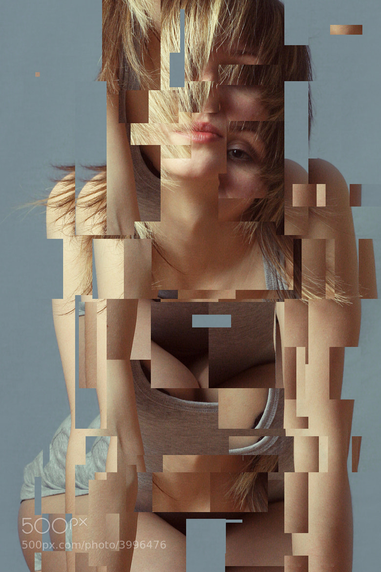 Photograph digital fragmentation  by Petras Gagilas on 500px
