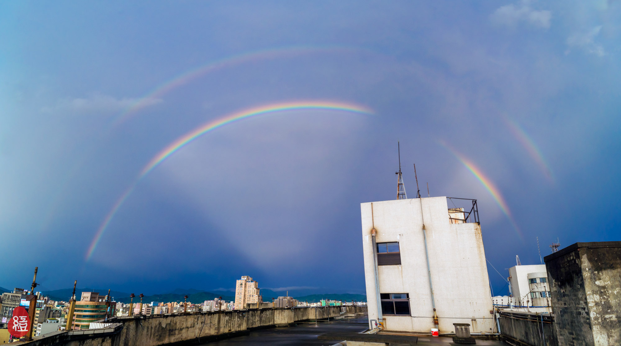 Photograph Rainbow in Taichung City,Taiwan by Red Bean Liu on 500px