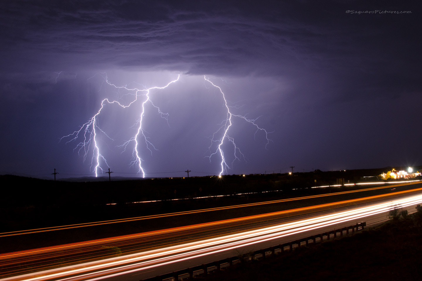 Photograph Lightning and Light Trails by Greg McCown on 500px