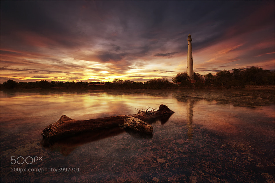 Photograph Sembilangan Lighthouse by Heru Rishardana on 500px