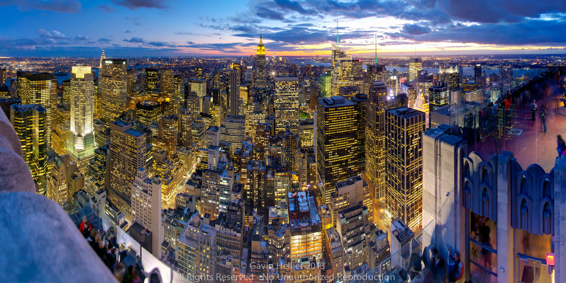 Photograph New York, United States of America, Manhattan view towards Empire State Building  by Gavin Hellier on 500px