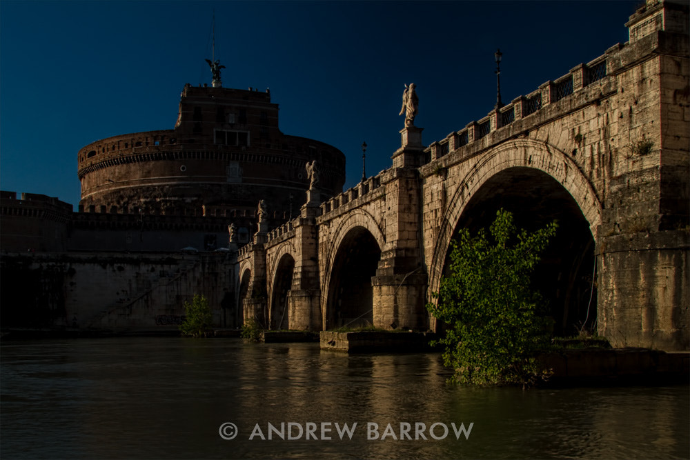 Photograph Sunset over Ponte Sant' Angelo and Castel Sant' Angelo by Andrew Barrow LRPS on 500px