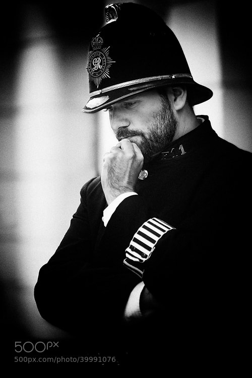 Photograph Policeman by Sam Dobson on 500px