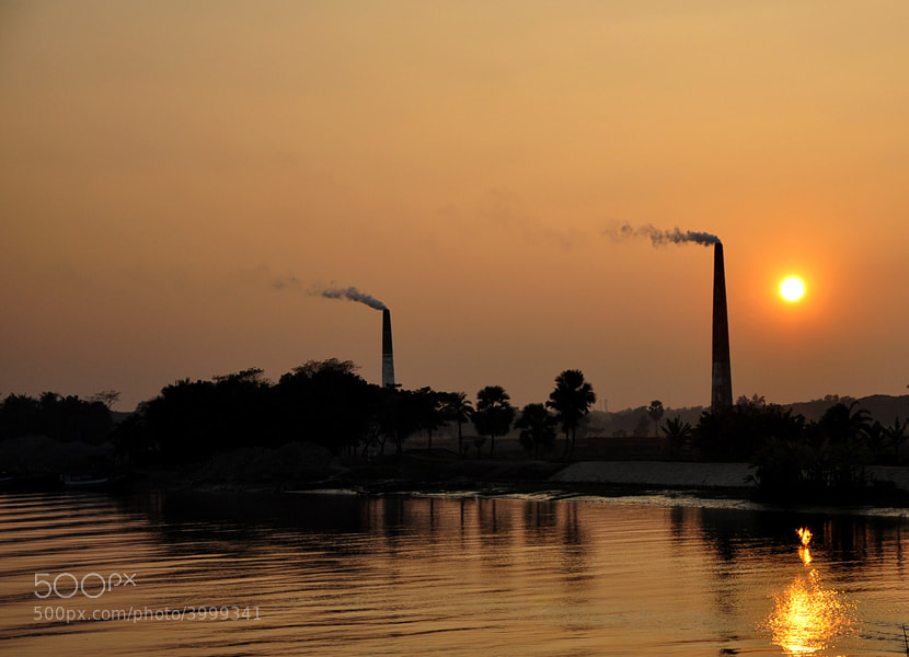 Photograph Sunset over Gangni river. by Mosaddeque Rahman on 500px