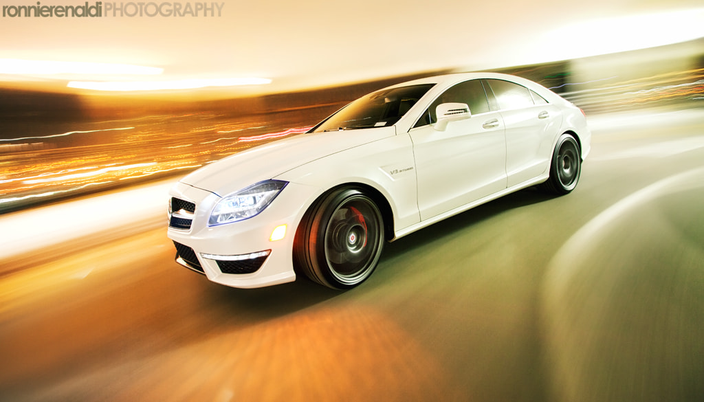 Photograph 2012 CLS63 AMG by Ronnie Renaldi on 500px
