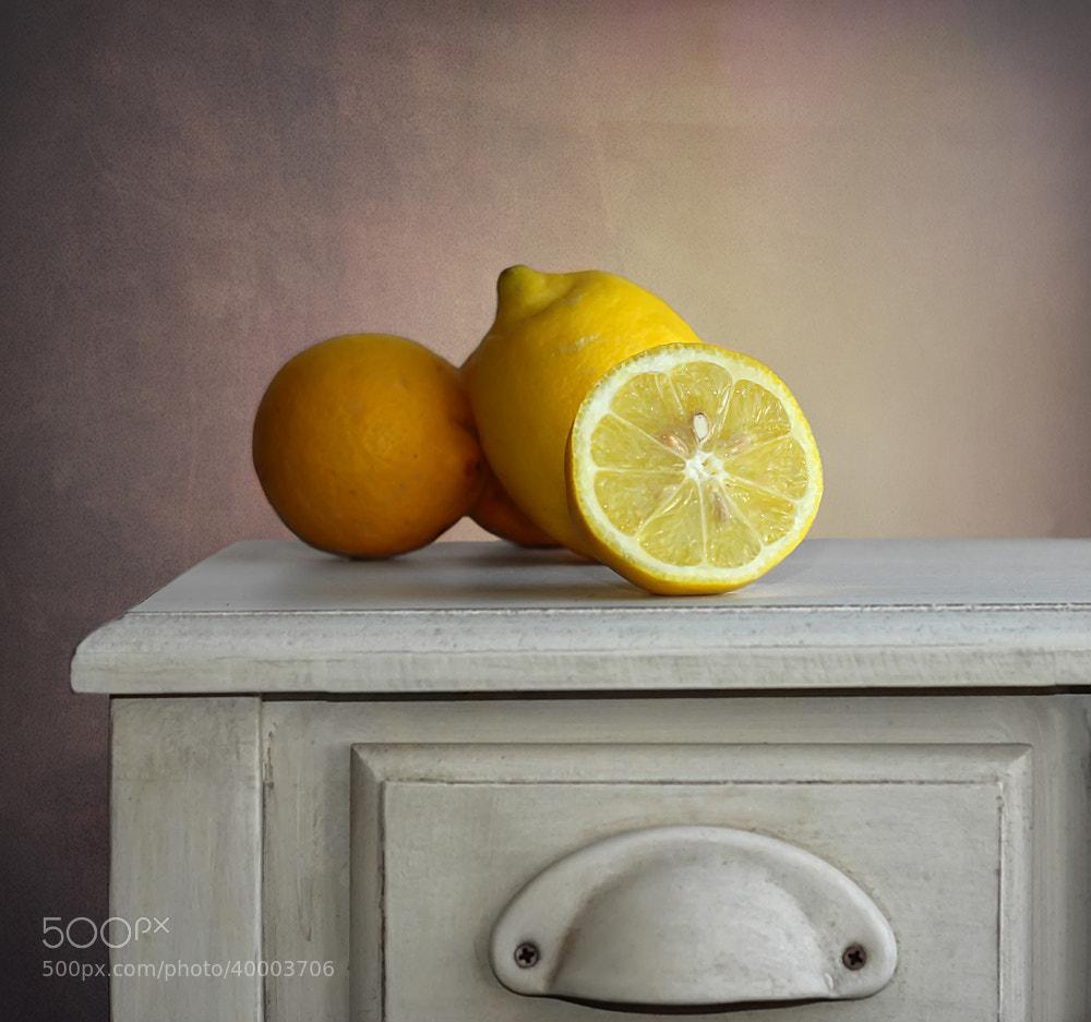 Photograph The lemons.... by Belén Argüeso Castelos on 500px