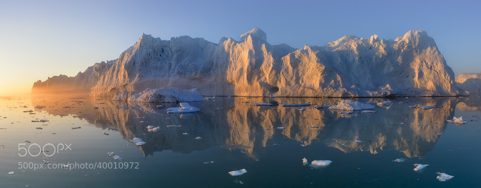 Photograph Ice. Fog. Greenland. by Mike Reyfman on 500px