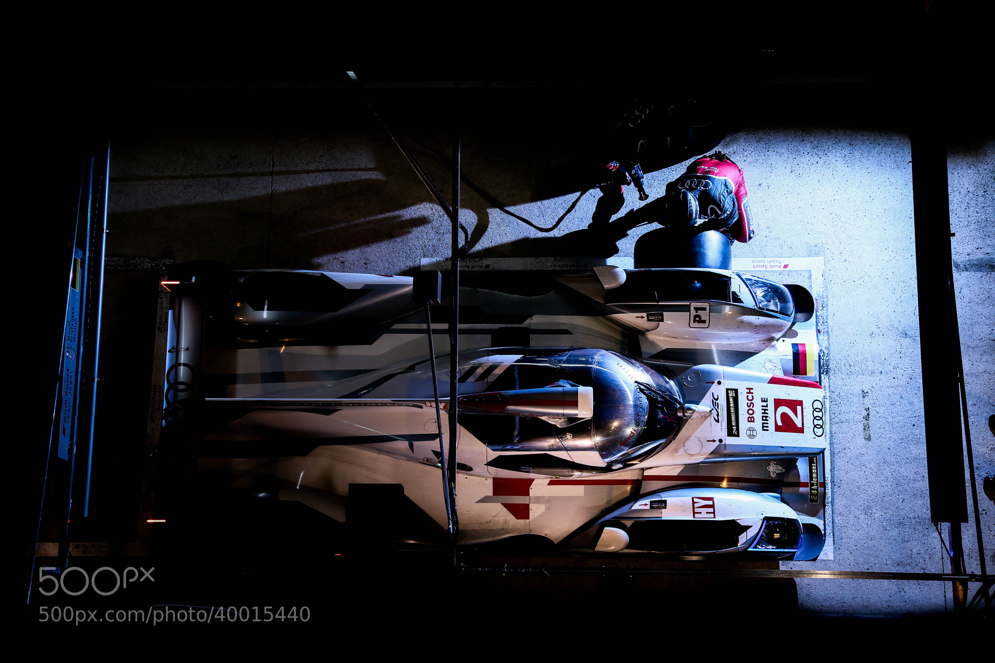 Photograph Audi R18 e-tron quattro - 24h Mans 2013 by Bruno Vandevelde on 500px