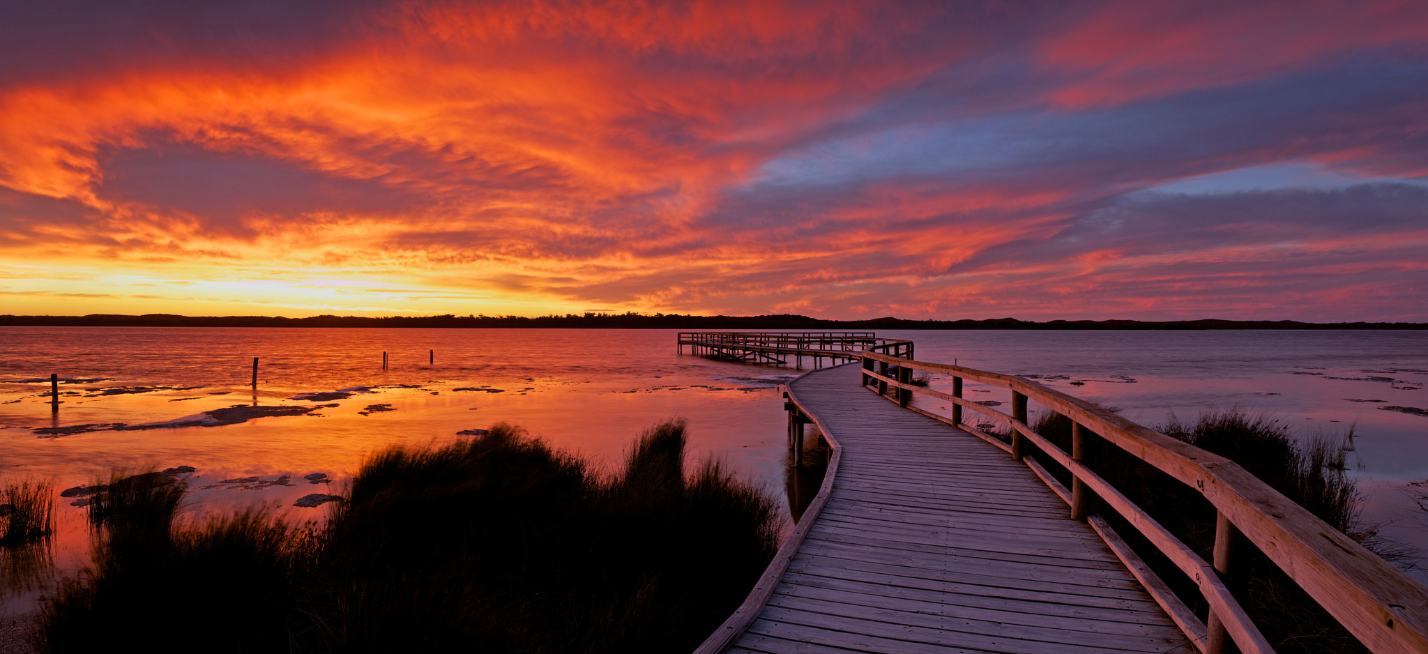 Photograph Lake Clifton sunset by Peter Hodgson on 500px