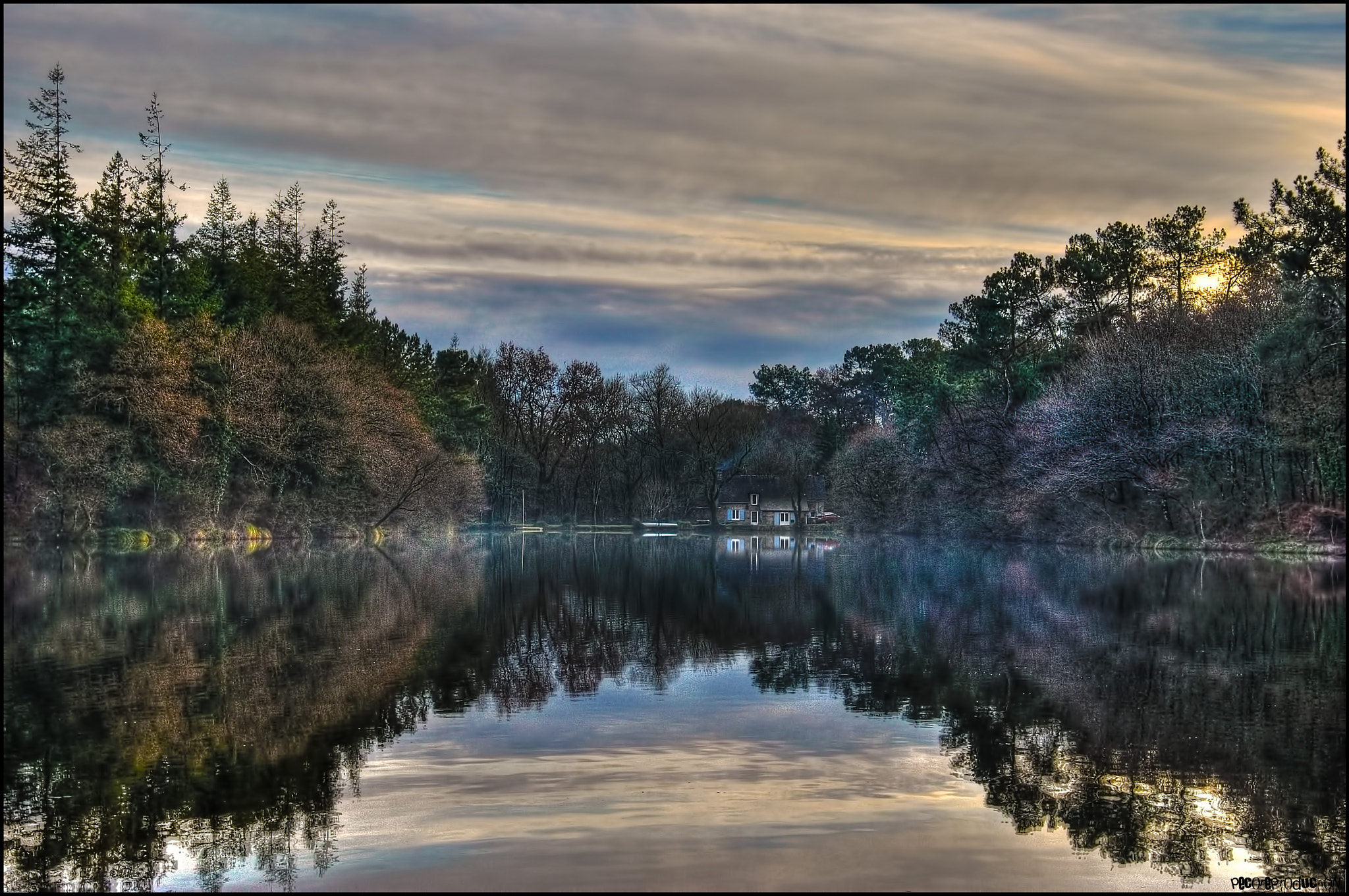 Photograph Pond Of Kersalo by Emmanuel LEMEE on 500px