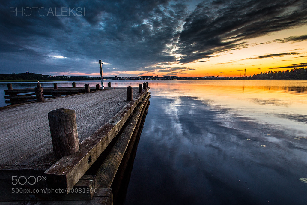 Photograph Old pier by Aleksi Hämäläinen on 500px
