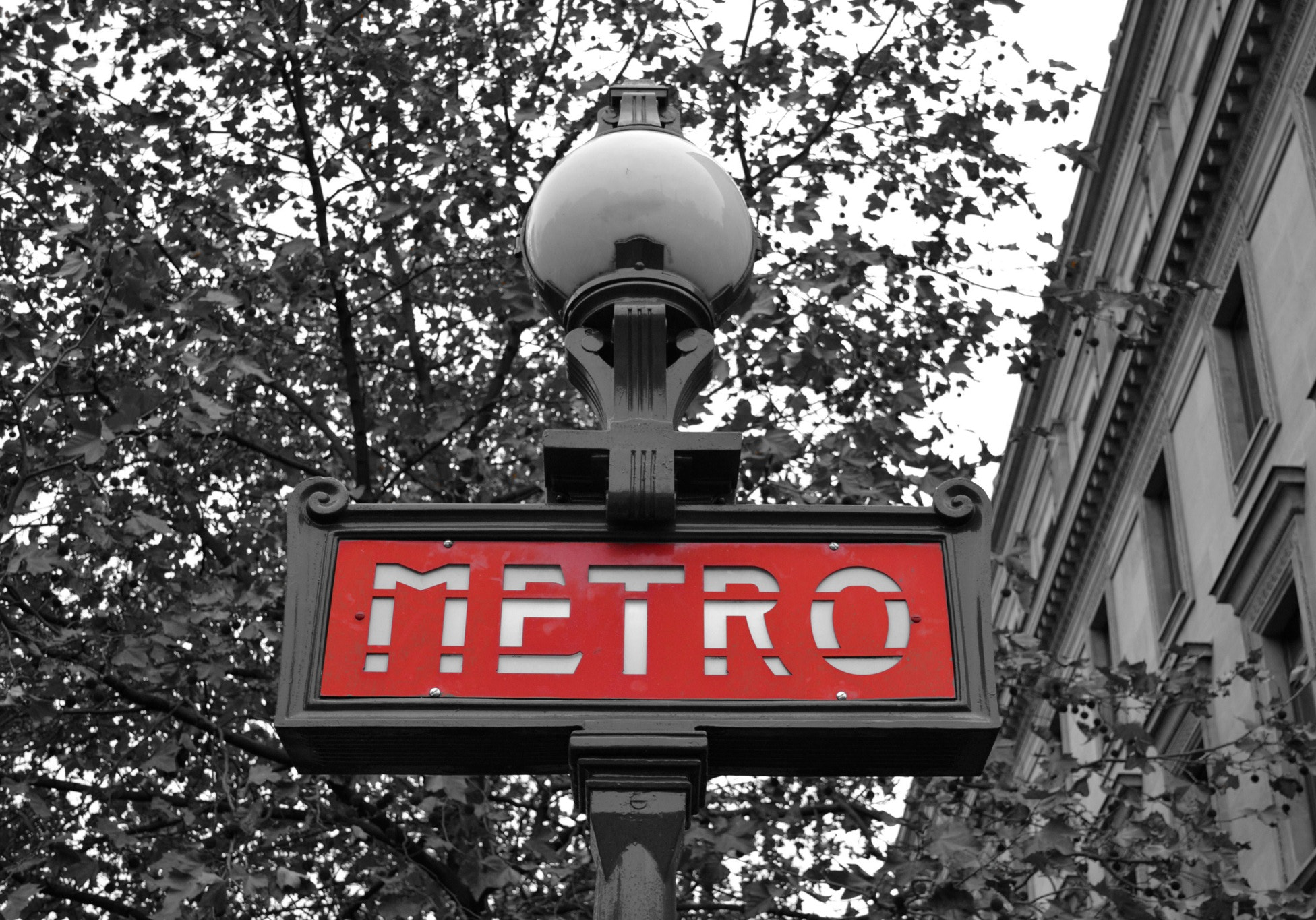 Photograph Paris Metro Sign by DJ  on 500px