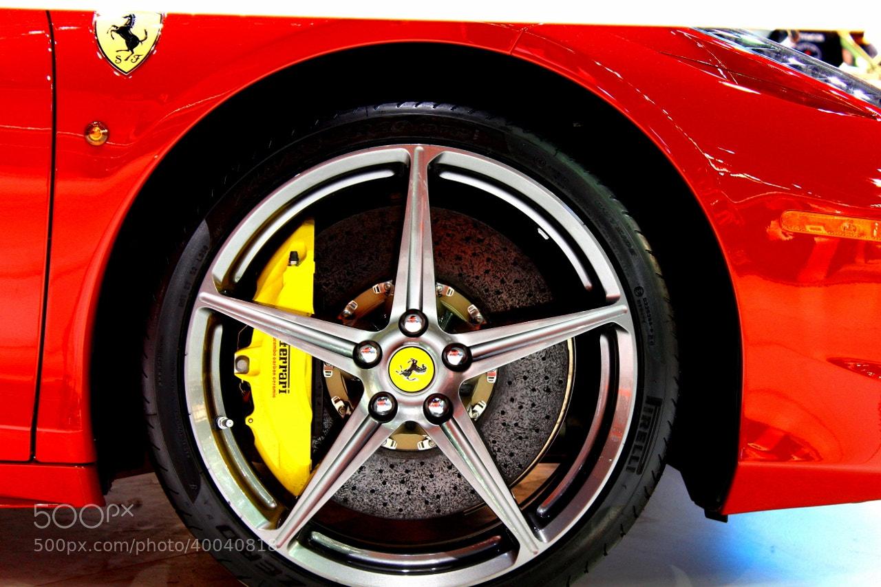 Photograph Ferrari by Hugo Desch on 500px