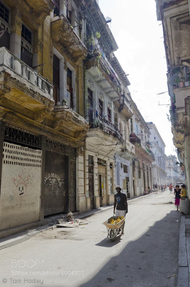 Photograph Banana Seller, Old Havana by Tom Hadley on 500px