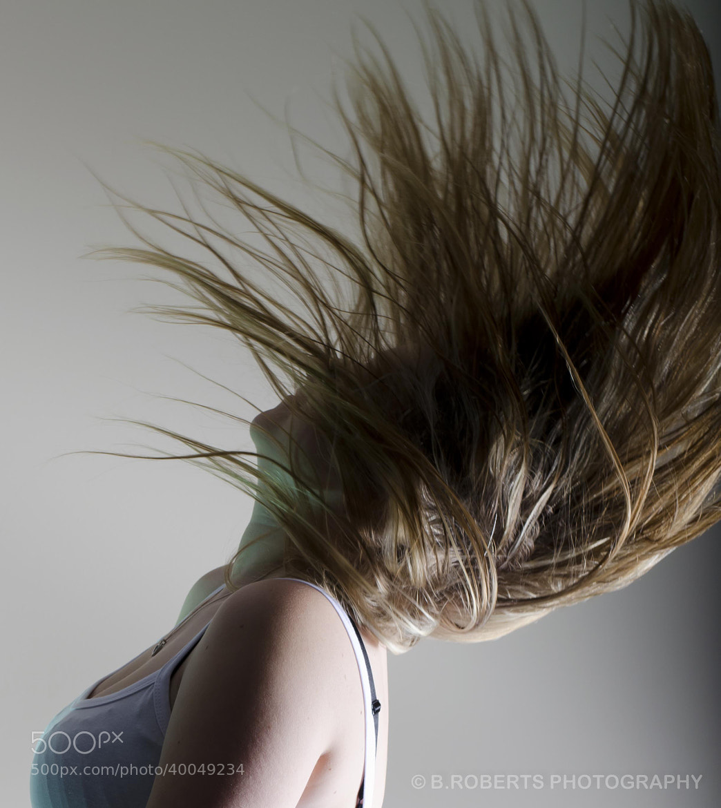 Photograph Hair Flick by Barry Roberts on 500px