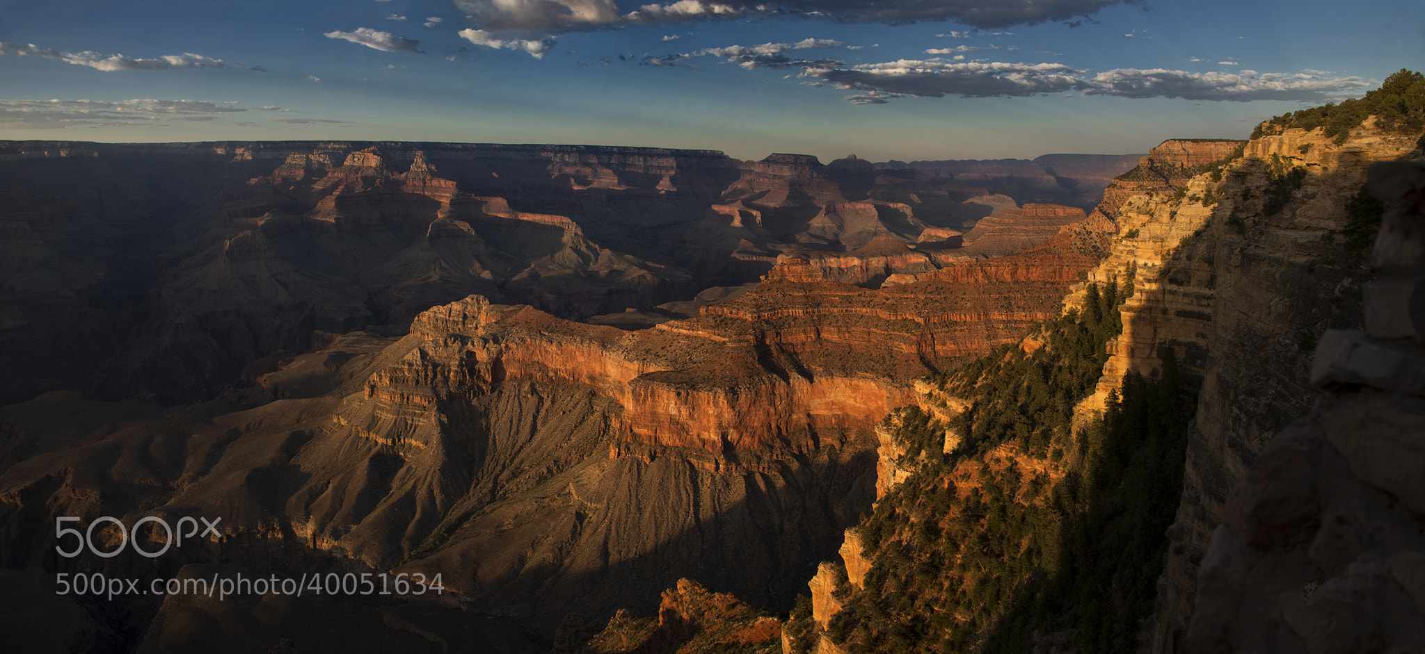 Photograph Golden Grand Canyon by NicholasL on 500px