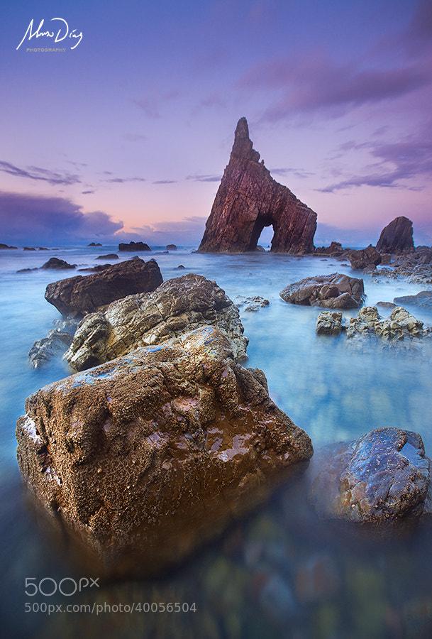 Photograph Arch of night by Alonso Díaz on 500px