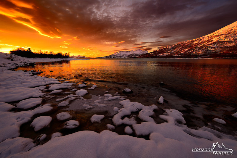 Photograph The endless sunset by Horizons Naturels | Team of french photographers  on 500px