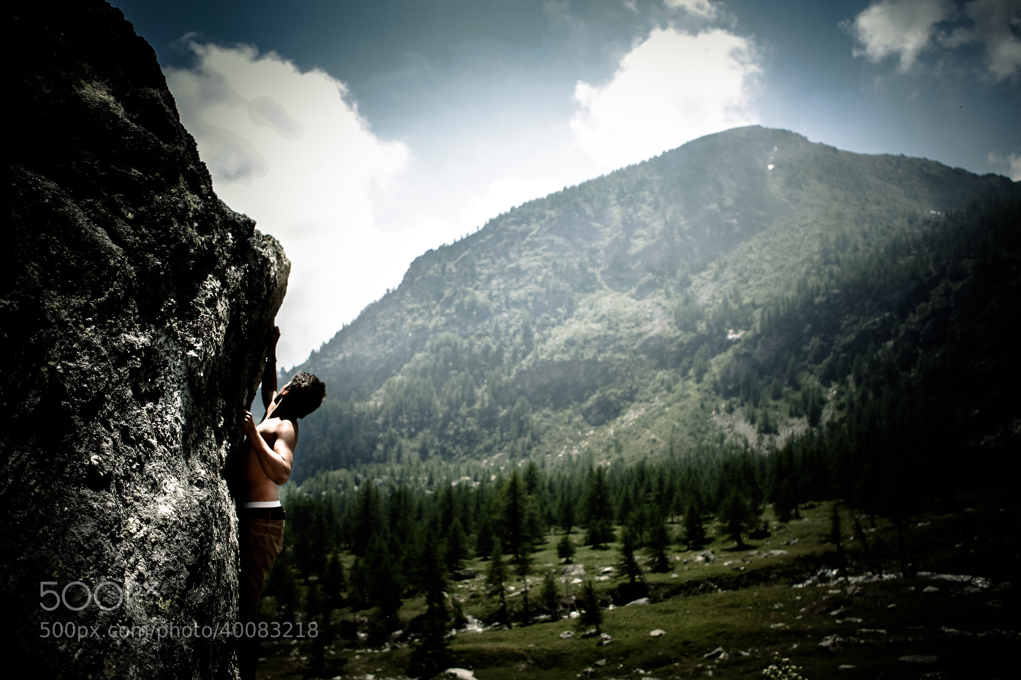 Photograph Free climbing by Paolo Pettigiani on 500px