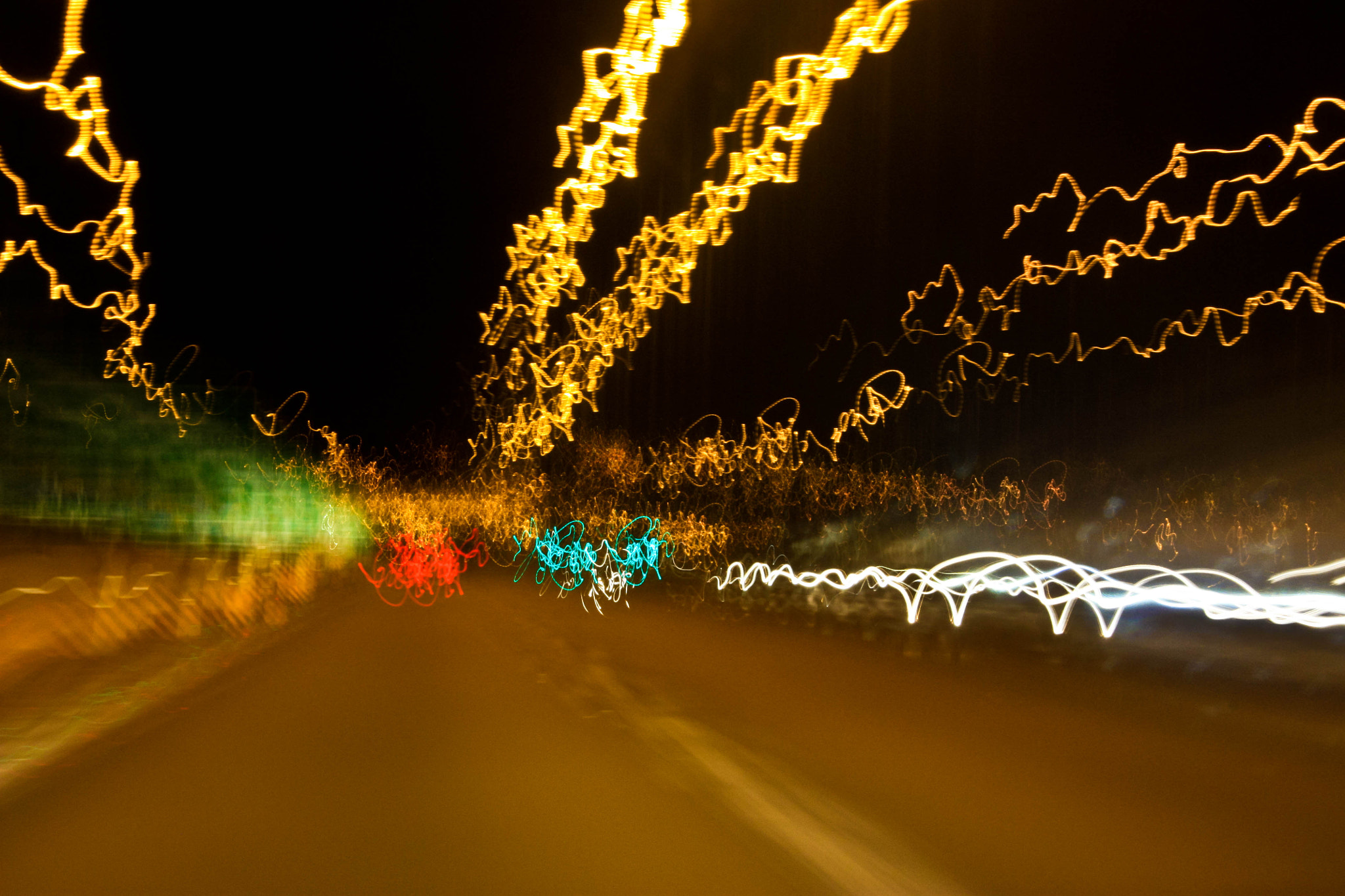 Photograph 8 Seconds of Road Bumps by Bikram Sthapit on 500px