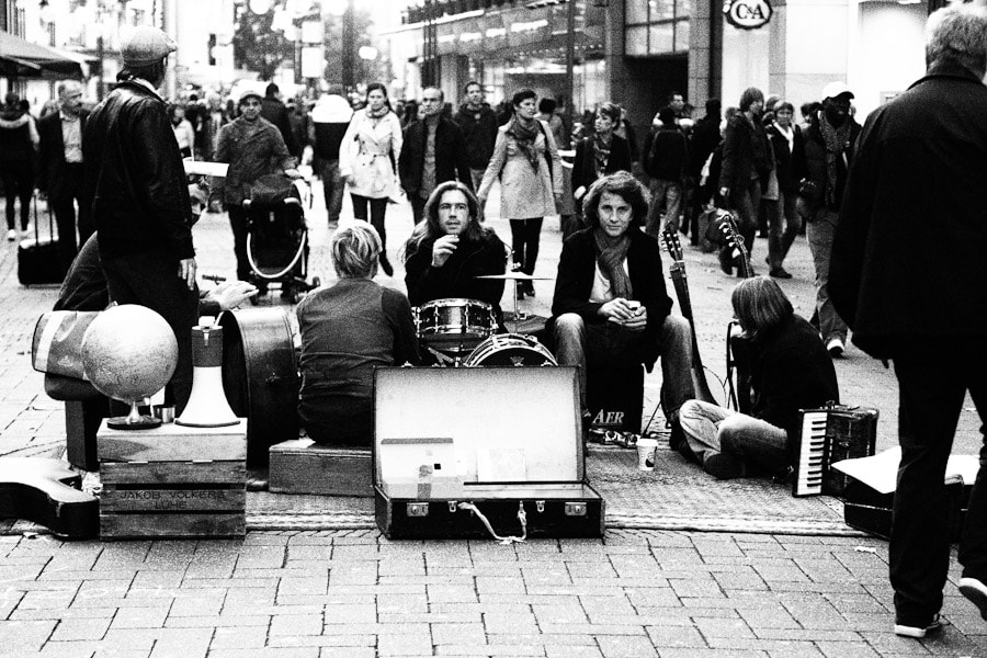 Photograph Street Band by Dong Lee on 500px