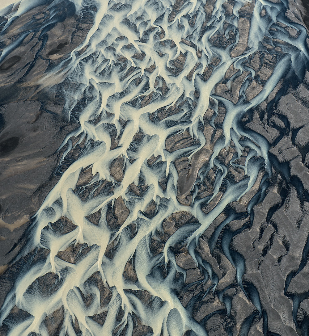 Photograph The  grid of river by Andre Ermolaev on 500px
