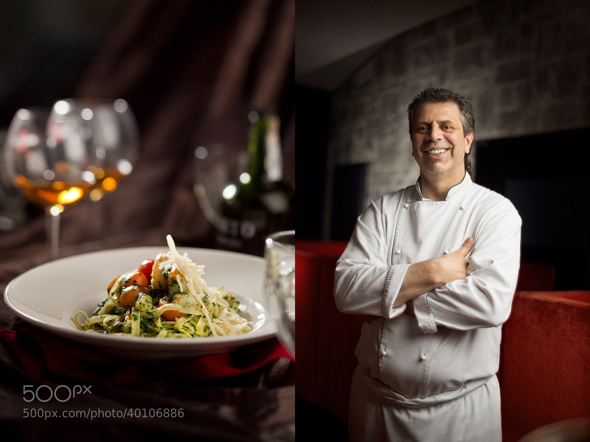 Photograph Abitabile Vincenzo, chef of Pizzeria del'Capo by Foodnchef  on 500px
