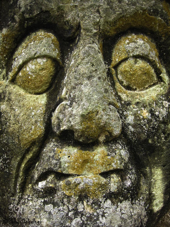 Photograph Maya sculpture portrait by Guy Dekelver on 500px