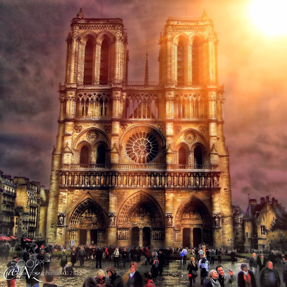Photograph Notre Dame Cathedral by Nebula Noize on 500px