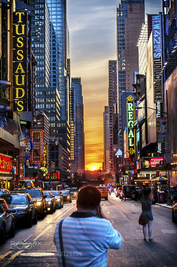 Photograph Manhattanhenge Redux by Brian Collins on 500px