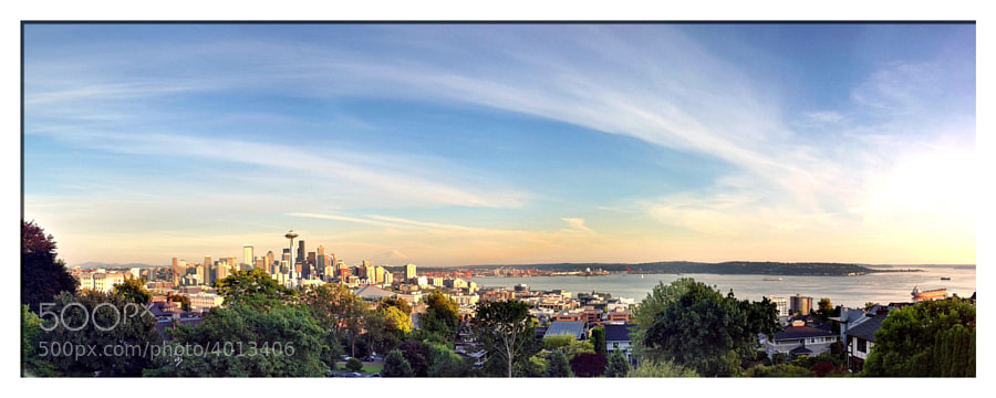 My first attempt at a merged and stitched iPhone panorama. 12 images were used to produce this final product