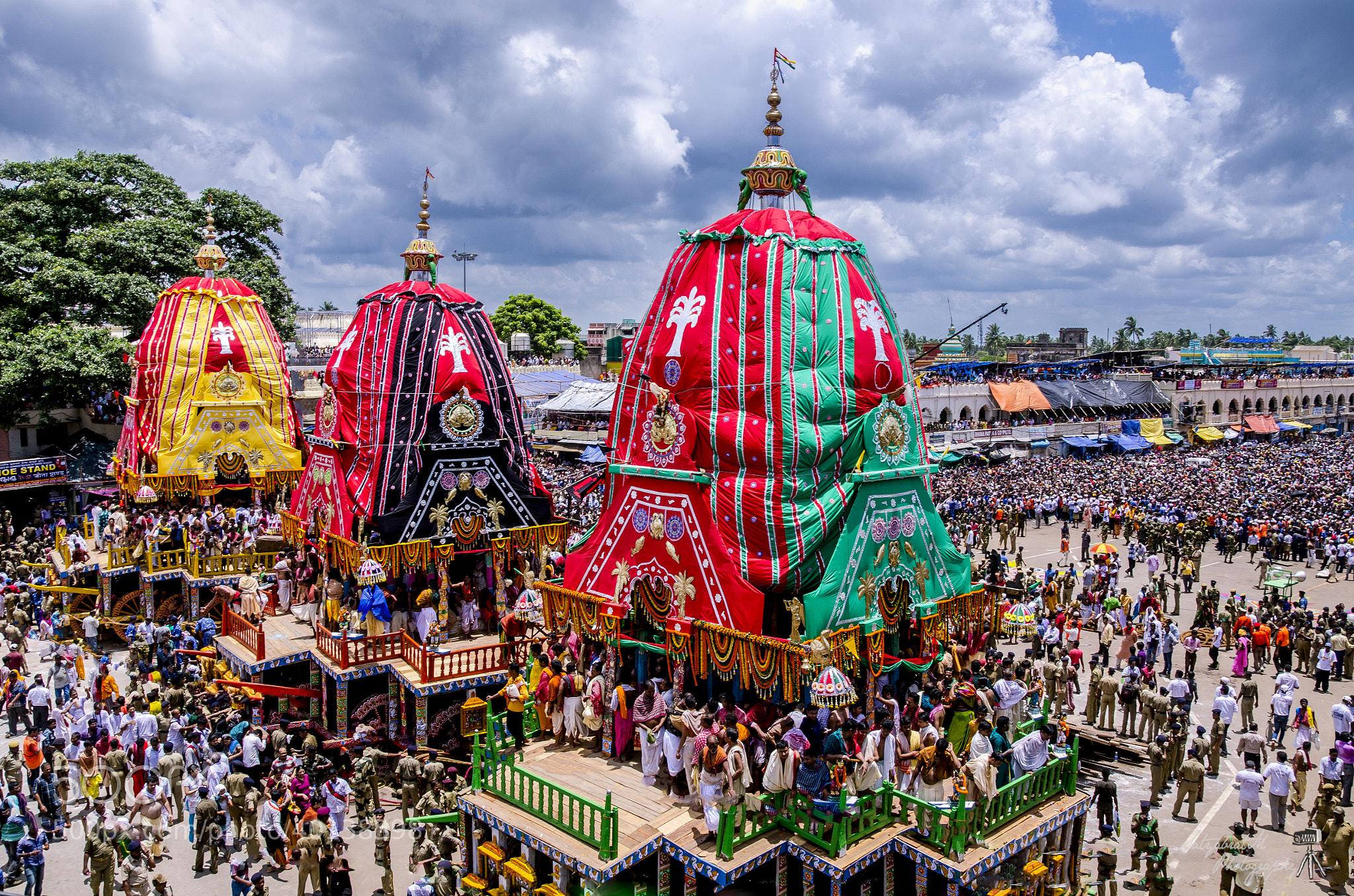 Photograph Rath Yatra (Car Festival, Puri) by Satya M on 500px