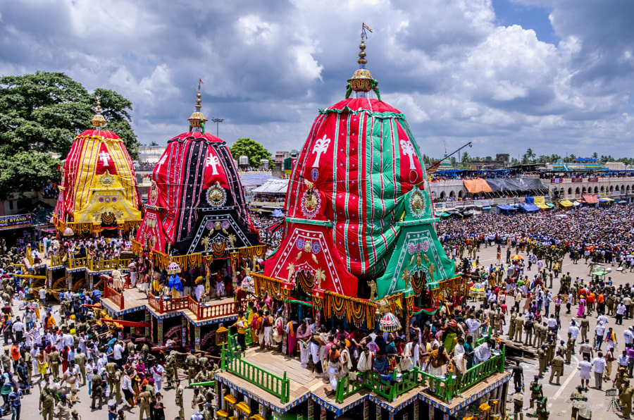 Photograph Rath Yatra (Car Festival, Puri) by Satya M on 500px