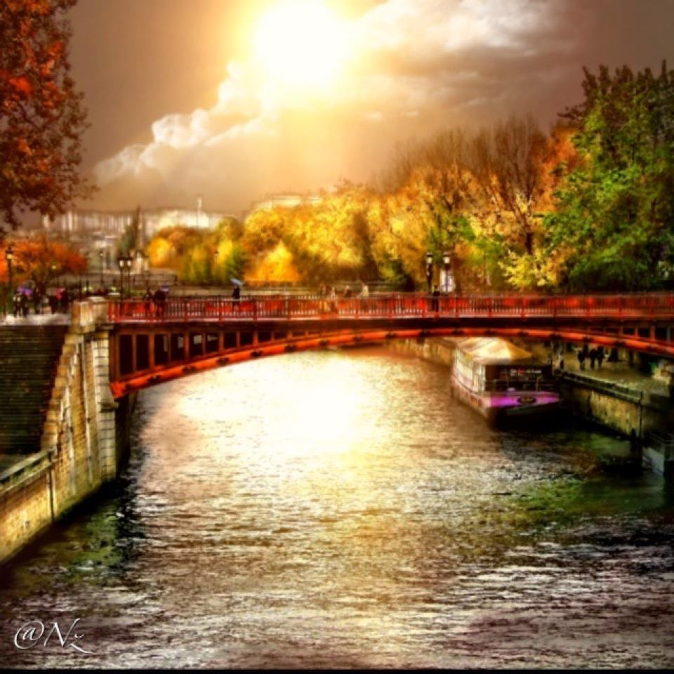 Photograph River in Paris... by Nebula Noize on 500px
