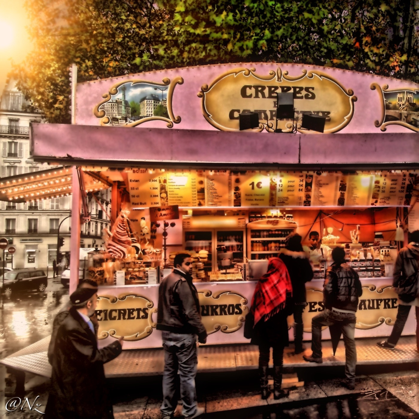 Photograph Crepes in Paris... Mmmmm... by Nebula Noize on 500px