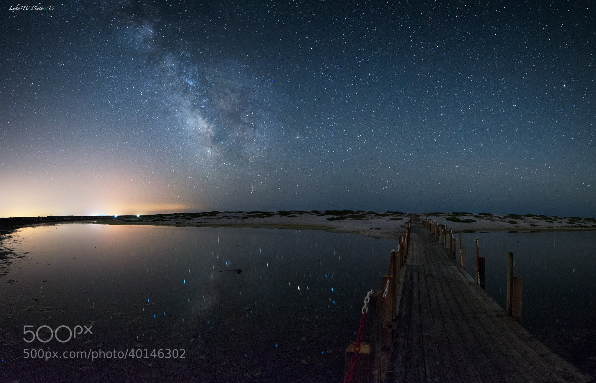 Photograph MilkyWay @Mari Ermi by Luka180 S. on 500px