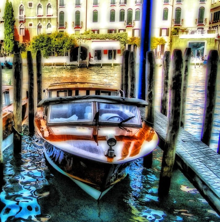 Photograph Water Taxi in Venice by Nebula Noize on 500px