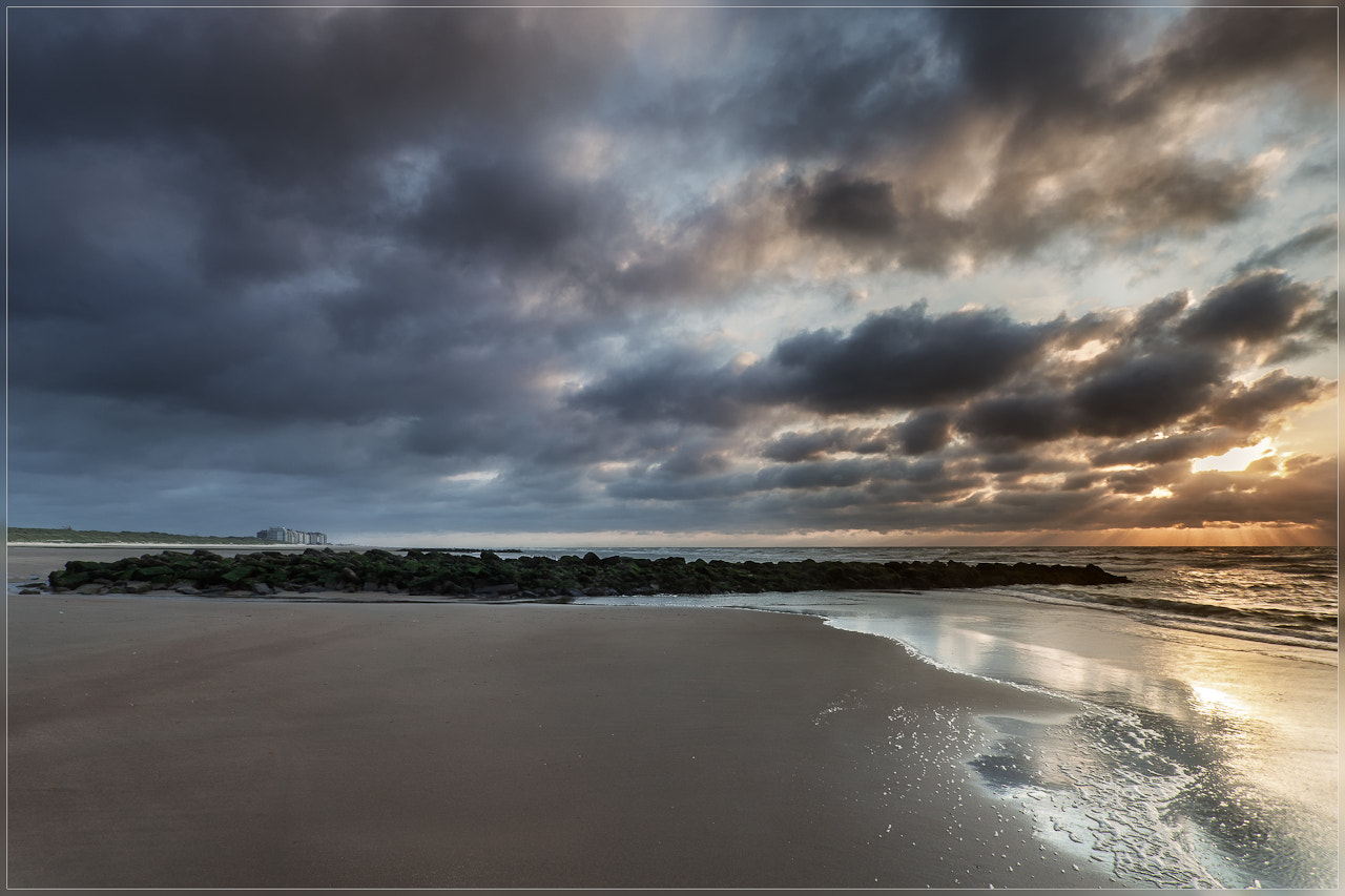 Photograph NorthSea @ late evening by Christophe Vandeputte on 500px