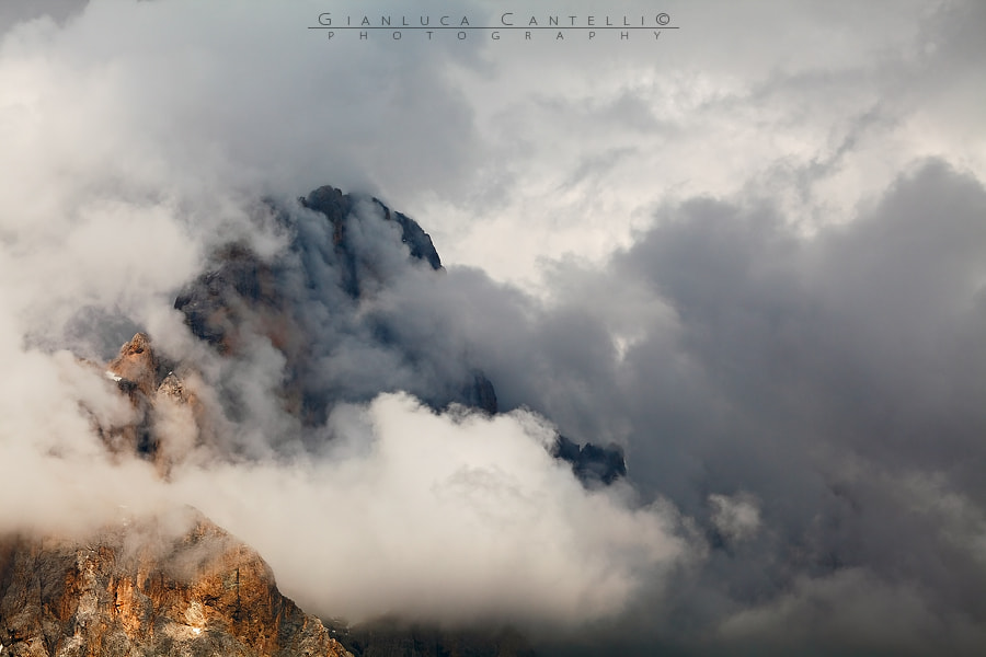 Photograph Clouds Avalanche by Gianluca Cantelli on 500px
