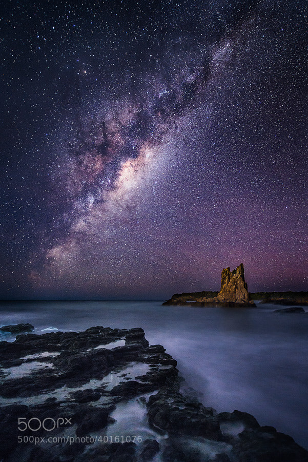 Photograph Under the Milky Way by Joshua Zhang on 500px