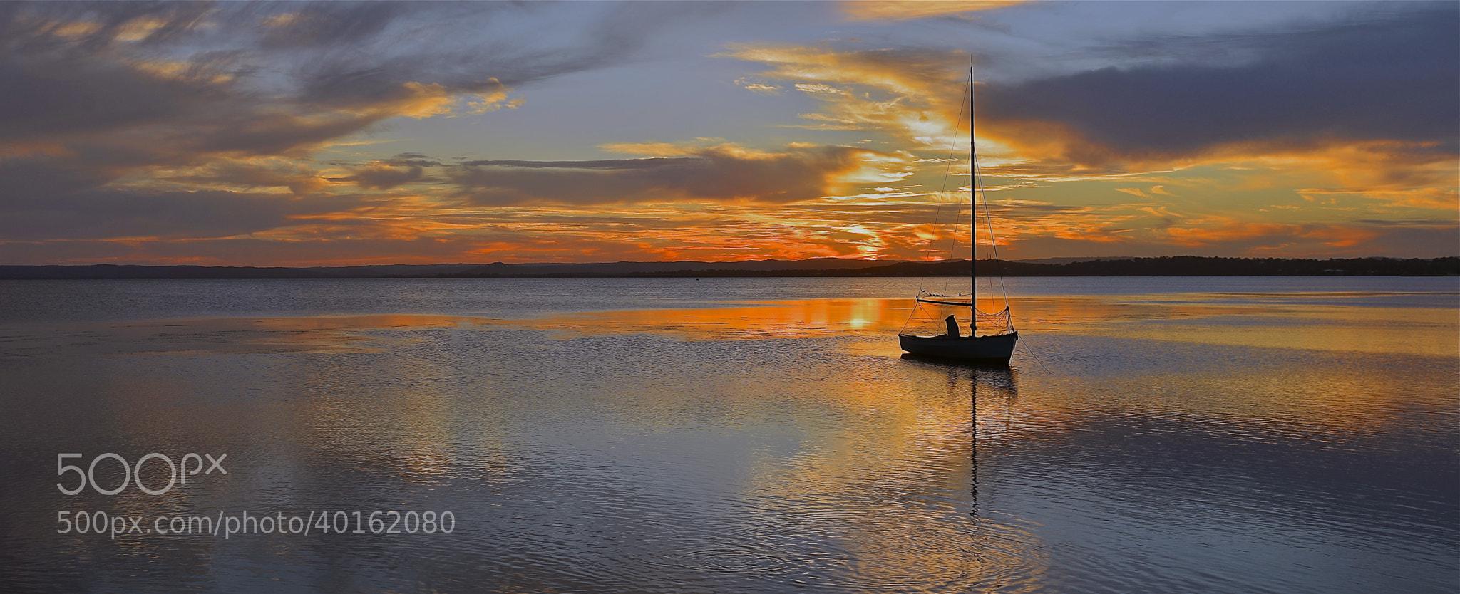 Photograph Peaceful Sunset. by Warren Patten on 500px