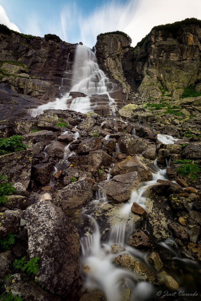 Photograph Waterfall Skok (High Tatras) by Zsolt Varanka on 500px
