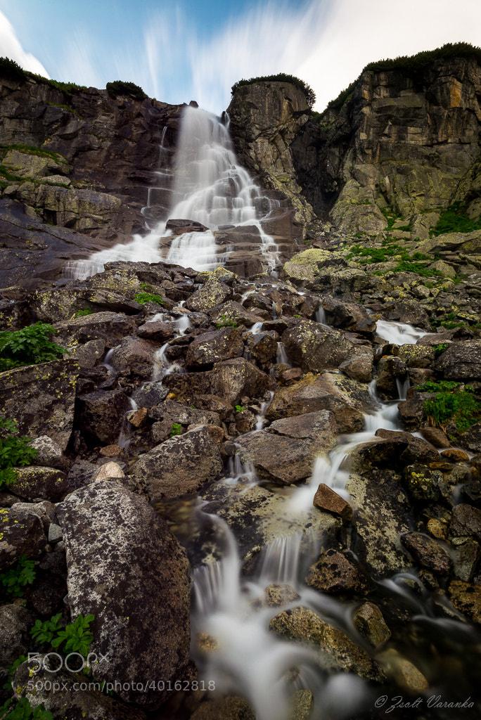 Photograph Waterfall Skok (High Tatras) by Zsolt Varanka on 500px