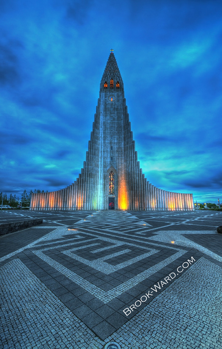 Photograph Iceland's Largest Church by Brook Ward on 500px