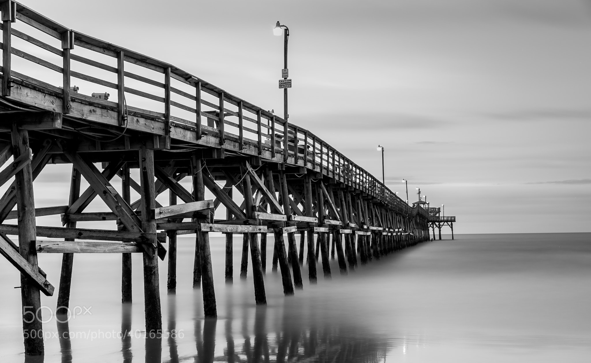 Photograph Misty Pier by Kurt Miller on 500px