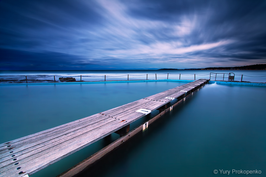 Photograph Narrabeen Pool by Night by Yury Prokopenko on 500px