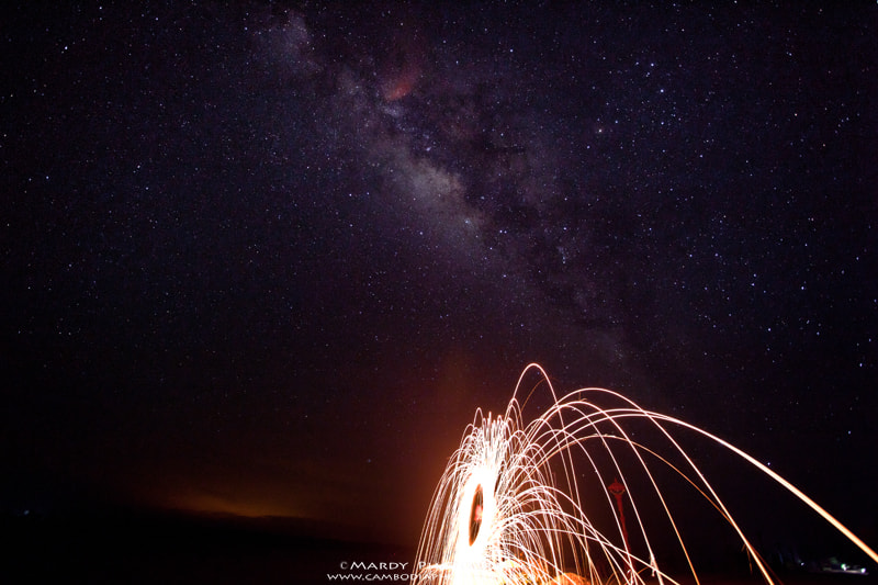 Photograph Another side of Milky Way and Steel Wool! by Mardy Suong Photography on 500px