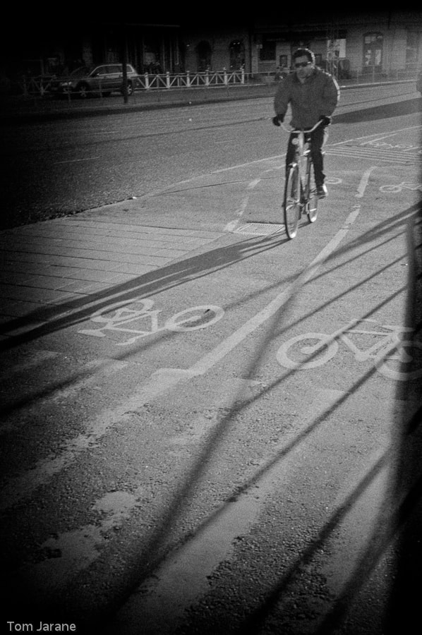 Photograph Cycling in Stockholm by Tom Jarane on 500px