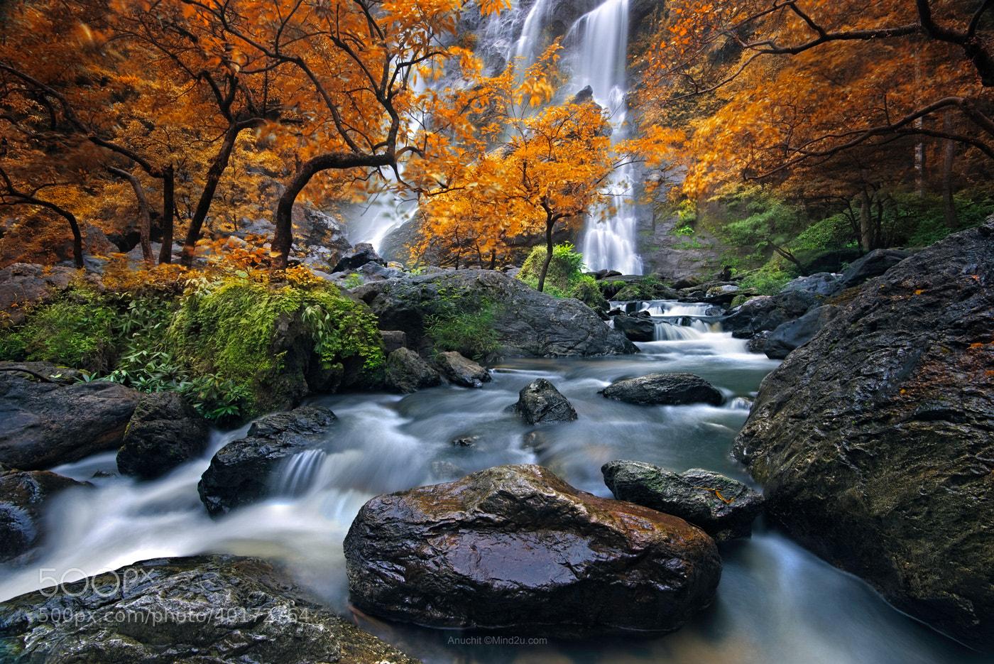 Photograph Waterfall 2 by Anuchit นายบันทึก on 500px