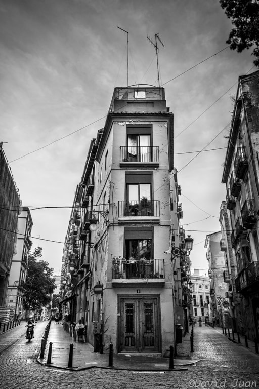 Photograph Carrer de D'alt i carrer de Baix by David Juan on 500px